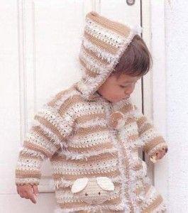 Модне в`язане пальто для дівчинки: є ідея!