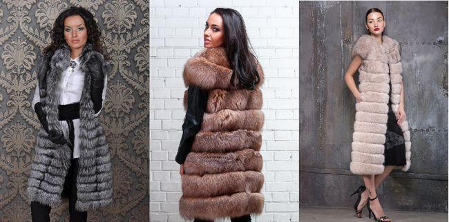 Модні рекомендації: з чим носити довгий хутряний жилет
