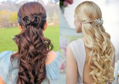 Накручені волосся середньої довжини