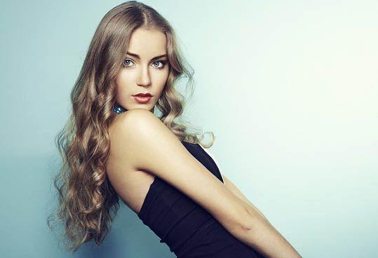 Народні засоби для блиску волосся