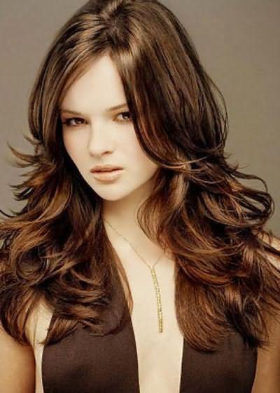 Об`ємні стрижки на довге волосся