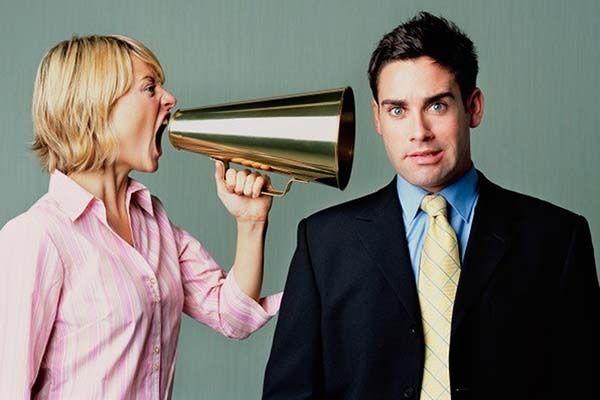 Помилки в спілкуванні з чоловіком