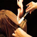 Пірофорез: лікування і стрижка волосся вогнем