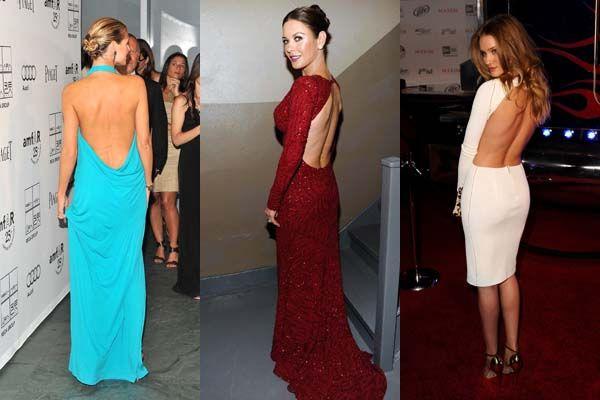 Сукня з відкритою спиною як вибрати
