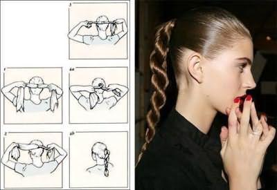 Плетіння кіс на довге волосся самій собі