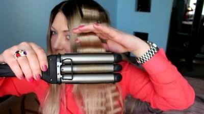 Інструкція по використанню потрійний плойки для волосся