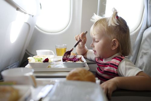 Політ в літаку з дітьми