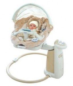 Допомога молодим батькам - електронні гойдалки для новонароджених