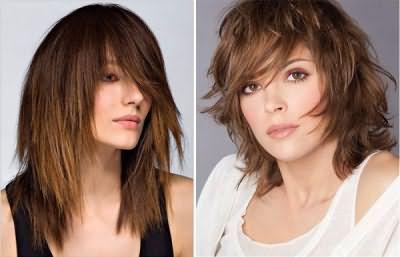 Зачіска каскад на коротке волосся з чубчиком або стрижка середньої довжини - що ви оберете?