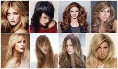 Драбинка на довге волосся фото