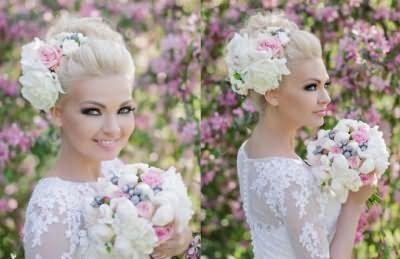 Квіти та інші аксесуари зроблять наречену справжньою принцесою