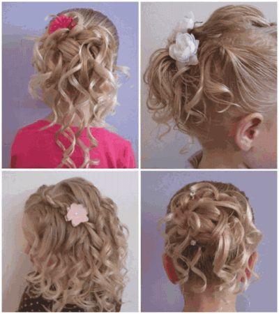 Замість бантиків і звичайних хвостиків можна створити чарівні дитячі зачіски на довге волосся своїми руками