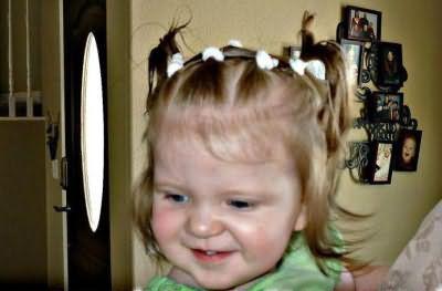прості зачіски для дівчаток на кожен день