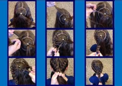 Майстер клас плетіння французької коси