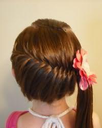 Зачіски для дівчаток в садік10