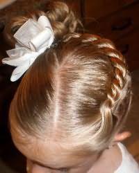 Зачіски для дівчаток в садік11