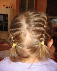 Зачіски для дівчаток в садік12