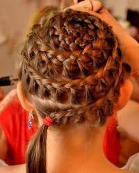 Зачіски для дівчаток в садік1