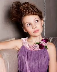 Зачіски для дівчаток в садік2