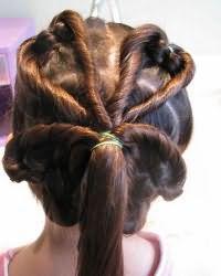 Зачіски для дівчаток в садік4