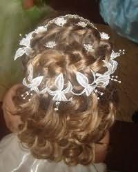 Зачіски для дівчаток в садік5