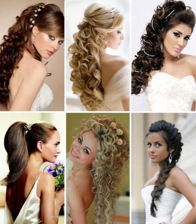 Красиві зачіски на випускний на довге волосся