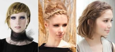Зачіски з плетінням