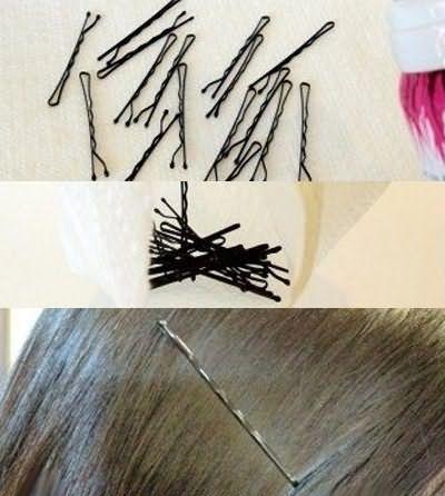 Ретельно закріплюйте зачіску невидимками