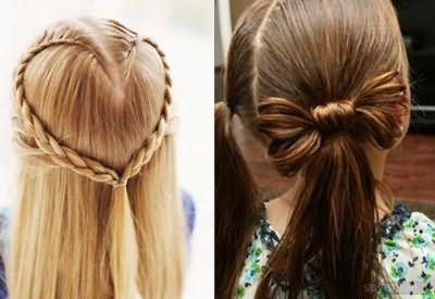 Незвичайні зачіски для дівчаток