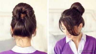 Зачіска для школи