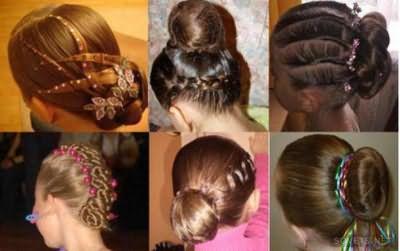 Красиві зачіски для бальних танців