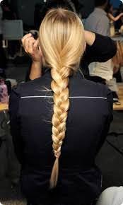Французькі коси на довге волосся фото