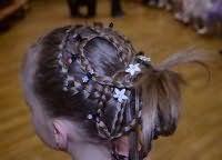 Модний варіант зачіски для довгого волосся