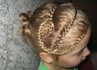 Святкова зачіска з плетінням