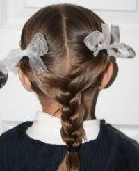 Зачіска з плетінням для середніх волосся