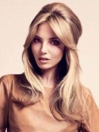 Модна зачіска бабета для довгого волосся