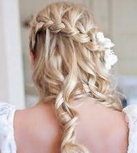 Французька коса для довгого волосся.