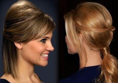 Зачіски з начосом на довге волосся фото