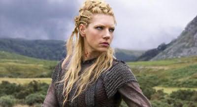 зачіски вікінгів жіночі