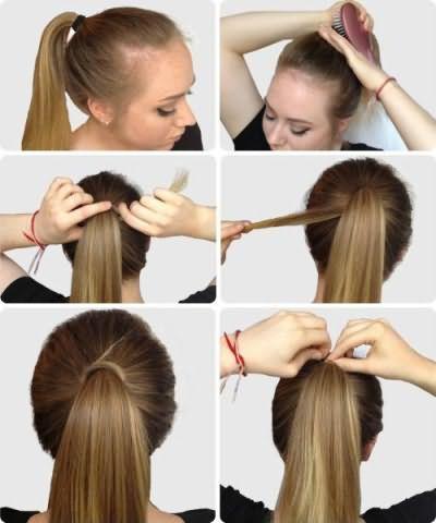 прості зачіски в школу