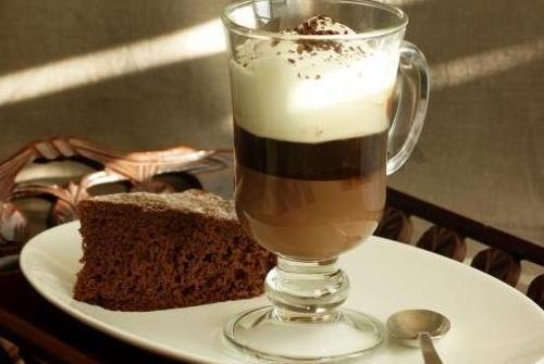 Рецепт кави по-туринський або кави бічерін.