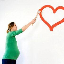 Малювання під час вагітності