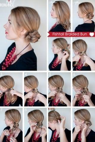 Як зробити пучок: покрокова техніка на фото