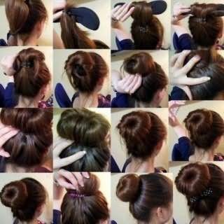 Зачіска пучок на кожен день: поетапна технологія