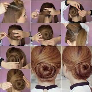 Як правильно зробити зачіску у вигляді пучка: фото