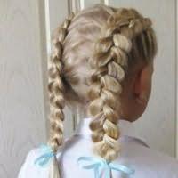 легкі зачіски в школу4