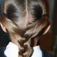 легкі зачіски в школу9