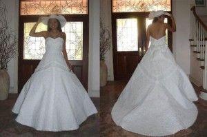 Самі незвичайні весільні сукні - які вони?