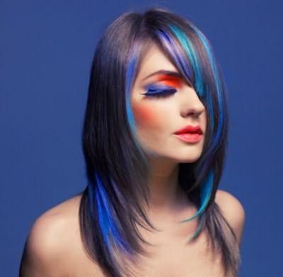 Колорування волосся шампунем відтінку