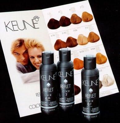 Відтіночний шампунь Keune